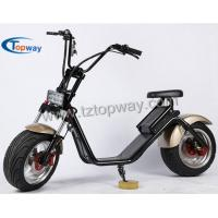 Buy cheap Popular Halley Electric Scooter 1000W 60V Fat Tyre Citycoco from wholesalers