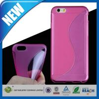 Wholesale Customizable 4.7 Inch S-Line Slim Soft TPU Gel Cover Apple iPhone 6 Cases from china suppliers