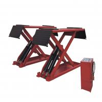 Wholesale Low Profile Hydraulic Auto Lift , Home Garage In-ground Mid Rise Scissor Lift from china suppliers