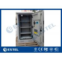 Wholesale Weather Proof Galvanized Steel Outdoor Equipment Cabinet With Front Door and Rear Door from china suppliers