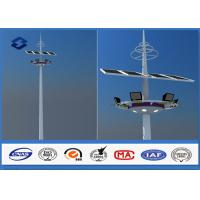 Wholesale 28m Q345 Material Customized carolina High Mast Light Pole With Lifting Systems from china suppliers