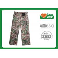 Wholesale Anti - Static Waterproof Hunting Pants / Camo Waterproof Trousers For Fishing from china suppliers