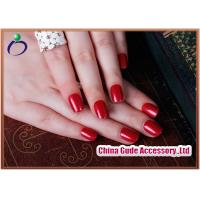 Wholesale Graceful Banquet Women Red metal Fake Nails , Material with Red metal from china suppliers