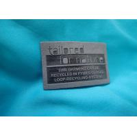 Wholesale OEM Jeans Leather Label Custom Printed Embossed Leather Patch from china suppliers
