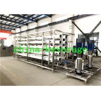 Buy cheap Food Beverage Reverse Osmosis Water Treatment System SUS304 1T/H-100MT/H from wholesalers