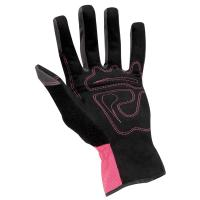 Quality Thermal lined insulated Winter Work Gloves customized with Crinkle latex coated for sale