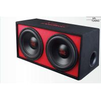 """Wholesale Red Car Boom Box Custom Car Subwoofer Enclosure 2"""" Single 4 OHM Coil Size from china suppliers"""