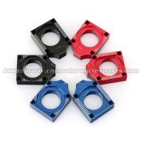 Wholesale Aluminum Alloy Axle Blocks For Yamaha YZF 250 450 Motocross Accessory from china suppliers