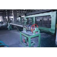 Wholesale 4m Galfan Coated Wire Automatic Gabion Mesh Machine , Mesh Dia. 3.0mm - 3.2mm from china suppliers