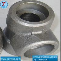 "Quality Material A182F304 1/2""-4"" forged ASME B16.11 NPT female thread tee for sale"