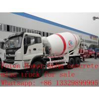 Wholesale 2017s new best price 8m3 FOTON ROWOR 6x4 concrete mixer truck for sale, factory sale good price cement mixer truck from china suppliers
