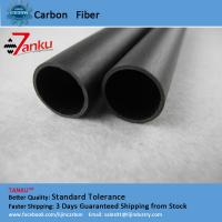 Wholesale High Strength 3k Carbon Fiber Pipe Corrosion Protection For Machine Parts from china suppliers