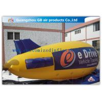 Wholesale Zeppelin Shape Inflatable Outdoor Advertising Balloons Heat Transfer Printing from china suppliers