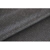 Wholesale Micro Dot Pattern Jacquard Pattern Wool Twill Fabric For Jacket 550G / M from china suppliers