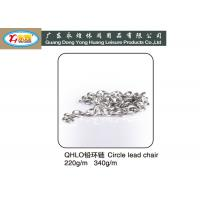 Wholesale SGS Approved 220G Per Meter Circle lead chain for cast Fishing net from china suppliers