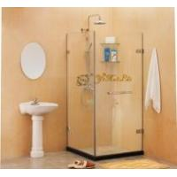 Buy cheap Square Frameless Shower Cabin from wholesalers