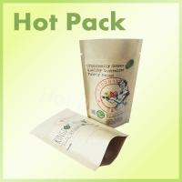 Wholesale Organic Kratom Doypack Standing Up Foil Lined Kraft Paper Bag from china suppliers