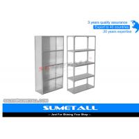 Wholesale Commercial Slotted Angle Shelving / Heavy Duty Metal Shelving Corrosion Protection from china suppliers