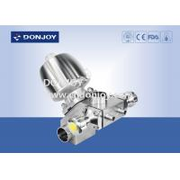 Buy cheap 2 Inch Tank Bottome Valve , DN100 ss sanitary fittings casting body from wholesalers