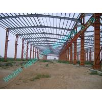 Wholesale Customized Durable Pre-engineered Building Steel Q235 / Q345 Grade from china suppliers