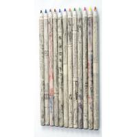 Wholesale High Quality HB newspaper pencil eco friendly recycled paper pencil,Logo promotional use from china suppliers