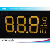 Wholesale Yellow Double Sided Led Gas Price Signs For Gas Stations Or Petrol Stations from china suppliers