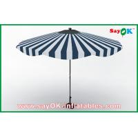 Wholesale Customized Beach Wood Handle Sun Umbrella Aluminum Frame Sun Protective Umbrella from china suppliers