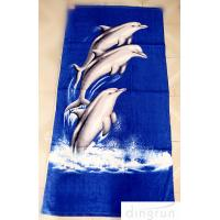 Wholesale OEM Personalized Printed Beach Towel , 70*140cm Eco-Friendly Dryfast from china suppliers