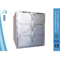 Wholesale Hospital Medical Six Medical Refrigerator Freezer Mortuary Chamber DC24V-AC220V from china suppliers