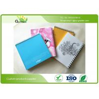 Wholesale Art Paper Film Lamination School Spiral Bound Notebook Custom Different Sizes from china suppliers