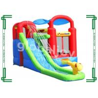 Wholesale Customized Inflatable Slide , Inflatable Bouncy Castle With Water Slides from china suppliers