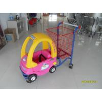 Wholesale Logo Print Kids Shopping Carts With Baby Car And 4 Rotating Flat Casters from china suppliers