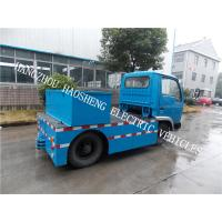Wholesale Single Cab Flatbed Delivery Truck , Fully Electric Truck With DC Electric Motor from china suppliers