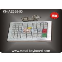 Wholesale Mechanical Ruggedized Keyboard , Stainless Steel Panel Keyboard from china suppliers
