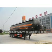 Wholesale 27cbm ash tank semi trailer with three axles optional power unit and color from china suppliers