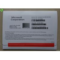 Quality OEM Version Windows 7 Softwares Pack With Key Code Original Microsoft 32 / 64 bits for sale