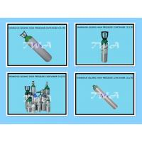 Buy cheap 139bar Pressure Medical Aluminum Gas Cylinder 5.08mm Wall Thickness 4.55L from wholesalers