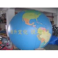 Wholesale Earth Pattern Tarpaulin PVC Inflatable Advertising Balloons Customized Good Tension from china suppliers