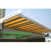 Wholesale waterproof balcony remote motor control aluminium retractable awning from china suppliers
