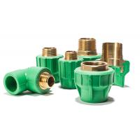 Wholesale Plastic Material PPR Pipe Fitting Straight Pipe Coupling Joint / Ppr Reducing Straight from china suppliers