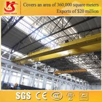 Wholesale Rail mounted double girder overhead euro style lifting crane from china suppliers