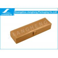 Wholesale MDF Wooden Pu leather Pen Box , Custom Pen Box With Button Closure from china suppliers