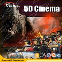 Wholesale Electric Motion 5D Movie Theater  8 / 9 / 12 Seats With 6 DOF Hydraulic Platform from china suppliers