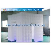 Wholesale White Big 2.4 X 2.4m Inflatable Led Photo Booth For Parties Or Wedding from china suppliers