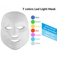 Quality 7 Colors PDT LED Light Therapy Machine skin led face mask home use for sale