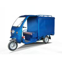 Wholesale High Speed 60V 1000W 24 Tube Electric Closed Roof Battery Powered Tricycle from china suppliers
