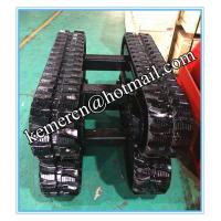 Wholesale factory directly offered 1 ton rubber track undercarriage for construction machinery (RT1500) from china suppliers