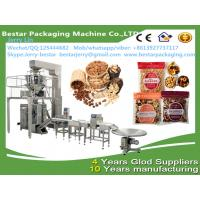 Wholesale Automatic peanut pista chiosun flower seed salmond cashew nut backstick pillow bag packing Bestar packaging machine from china suppliers