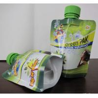 Wholesale Food Industry Gravure Printing Foil Sour Milk Liquid Spout Bags With Nozzle from china suppliers