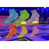 Lejump Indoor Trampoline Park Grip Socks  ,  Skyzone Jumping Socks  ,  Oxygen Free Jumping Bounce Socks for sale